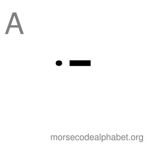 Morse Code Alphabet Flashcards a