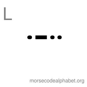 Morse Code Alphabet Flashcards l