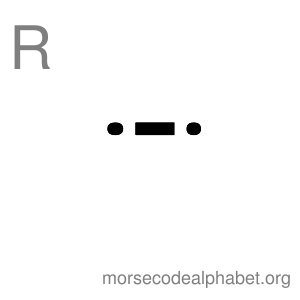 Morse Code Alphabet Flashcards r