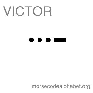 Morse Code Telephony Flashcards Victor
